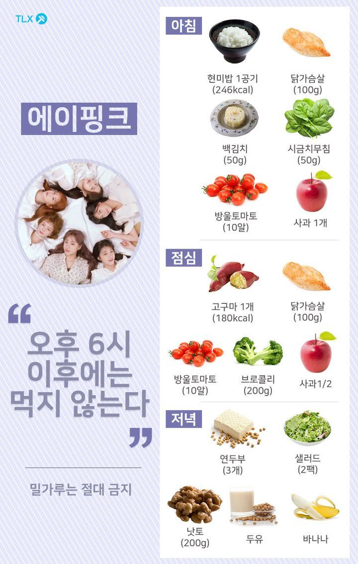 Female Idols Are Known For Their Intense Diet And Exercise Regimens Ahead Of Their Comebacks And If You Ever Wanted To Know Or Try Kpop Diet Korean Diet Diet