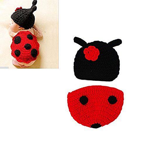 cool Hrph Disfraz de animal suave infantil hecho a mano de punto de lana recién nacido del ganchillo del escarabajo fotografía apoya la ropa del bebé Mas info: http://comprargangas.com/producto/hrph-disfraz-de-animal-suave-infantil-hecho-a-mano-de-punto-de-lana-recien-nacido-del-ganchillo-del-escarabajo-fotografia-apoya-la-ropa-del-bebe/