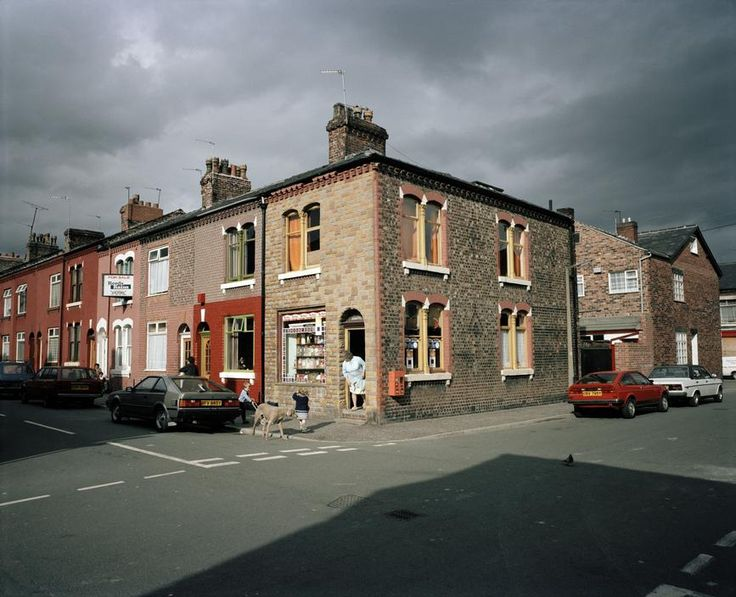 The old Salford, Manchester, England, United Kingdom, 1986, photograph by Martin Parr.