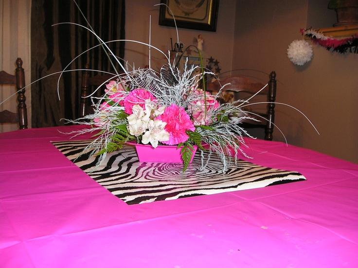 Ideas about zebra centerpieces on pinterest