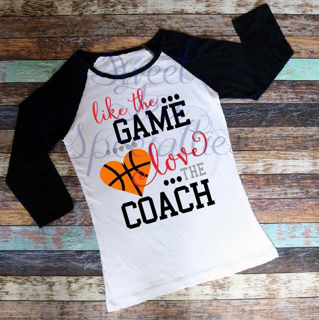 Like the Game, Love the Coach, Adult Next Level Unisex Raglan Quick Shipping ANY Sport, Basketball, Baseball, Football, Soccer, Volleyball by SweetSouthernCraftCo on Etsy https://www.etsy.com/listing/502768807/like-the-game-love-the-coach-adult-next