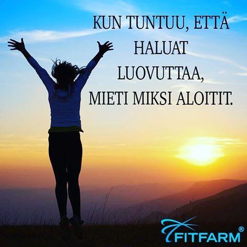 #asiaa #jokainen #voi #tätä #miettiä #elämä #elämänviisauksia #fitfarm #repost…