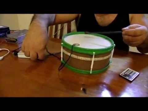 """Controlador RGB con mando """"RF"""" para tambores , instrumentos de percusión...  http://amiyoledshop.es"""
