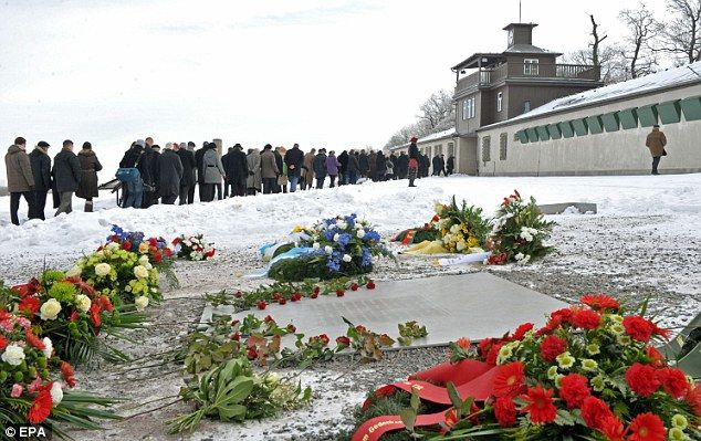 A memorial for both those who survived and those who didn't at Buchenwald Concentration Camp in 2010.