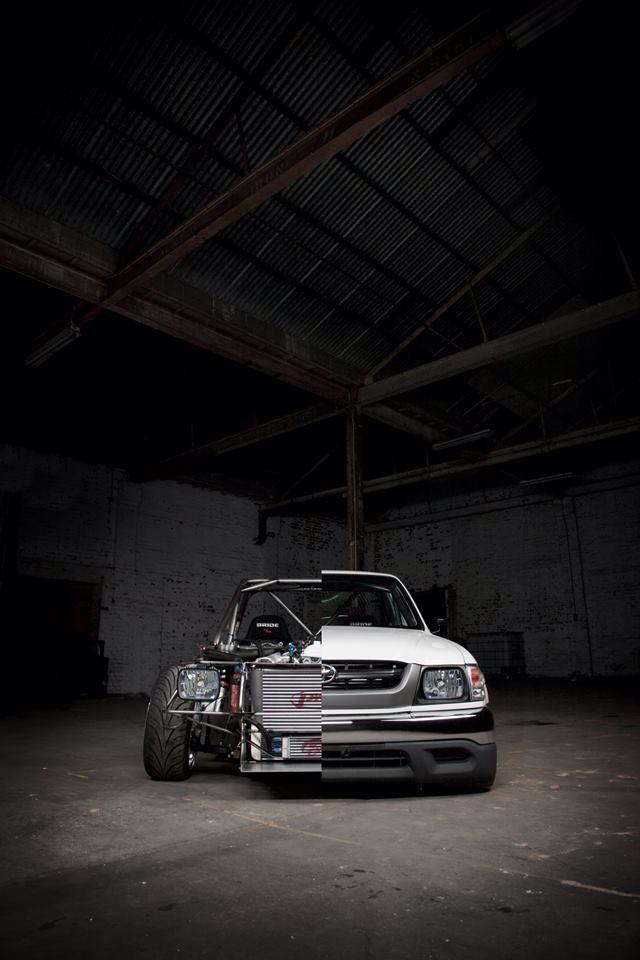 Toyota Hilux Drift Truck