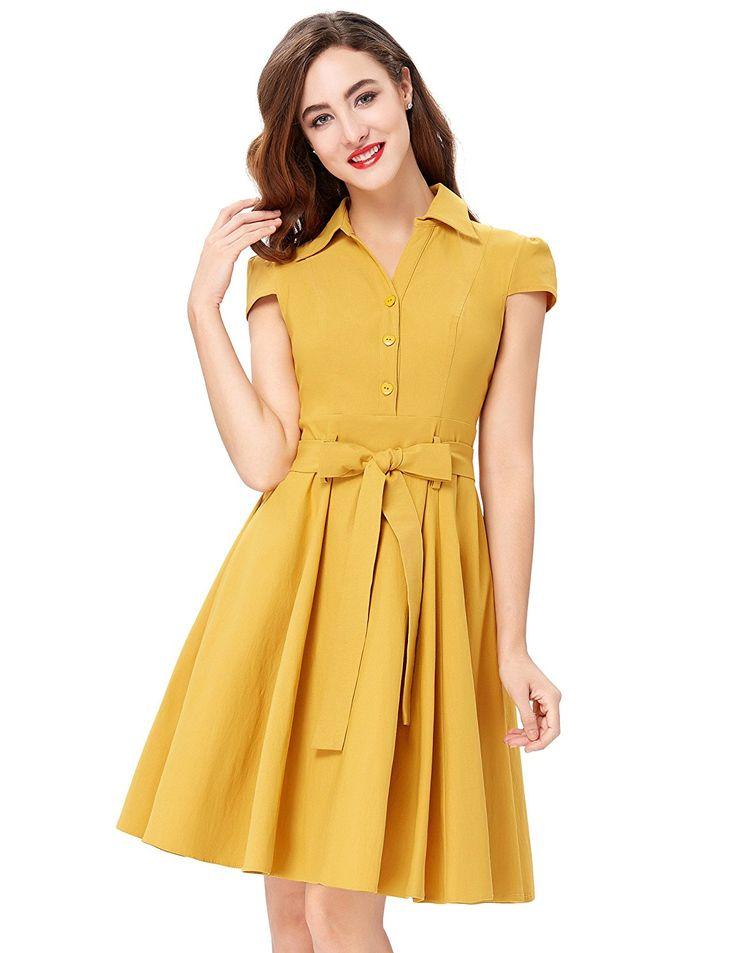 GRACE KARIN Women 50s Pin Up Dresses Vintage Style CL010408 at Amazon Women's Clothing store:  https://www.amazon.com/gp/product/B01KV1I13A/ref=as_li_qf_sp_asin_il_tl?ie=UTF8&tag=rockaclothsto-20&camp=1789&creative=9325&linkCode=as2&creativeASIN=B01KV1I13A&linkId=64e6cc1c89f91e403a9e25bf64139e78