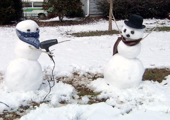 How to make a Calvin and Hobbes Snowman - 简体中文