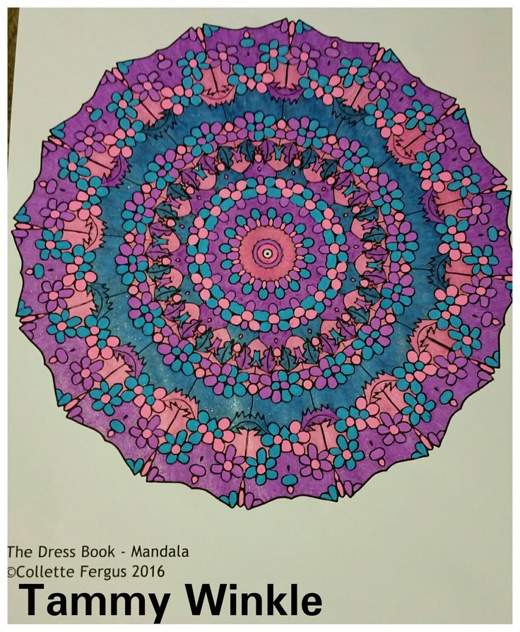 Book: The Dress Book      Dress Mandala