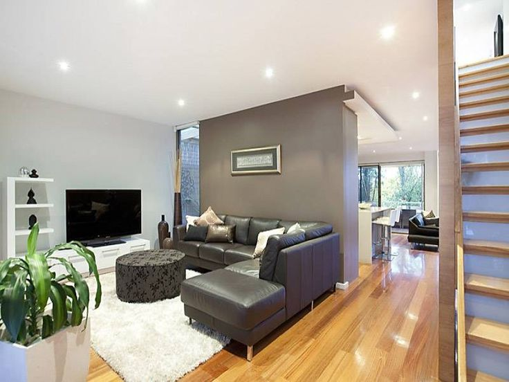 Brown living room idea from a real Australian home - Living Area photo 429921