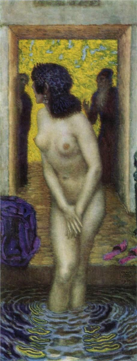 Franz Von Stuck (1863 - 1928) - Susanna and the Elders - 1913