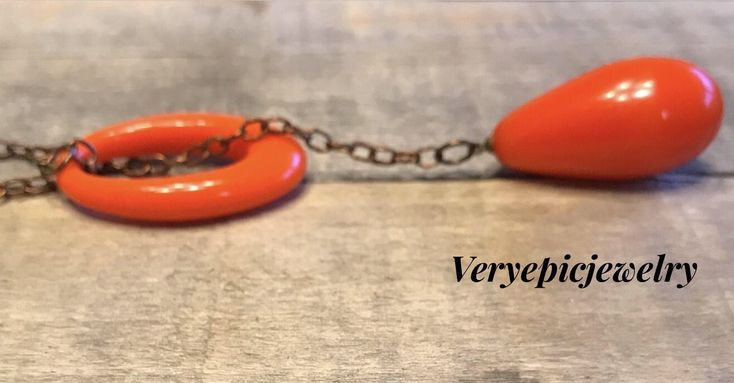 A personal favorite from my Etsy shop https://www.etsy.com/listing/577136027/minimalist-boho-orange-necklace-gypsy