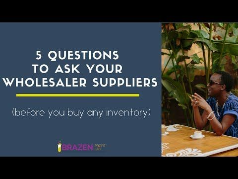 Fashion wholesale suppliers guide (+ listing & templates)