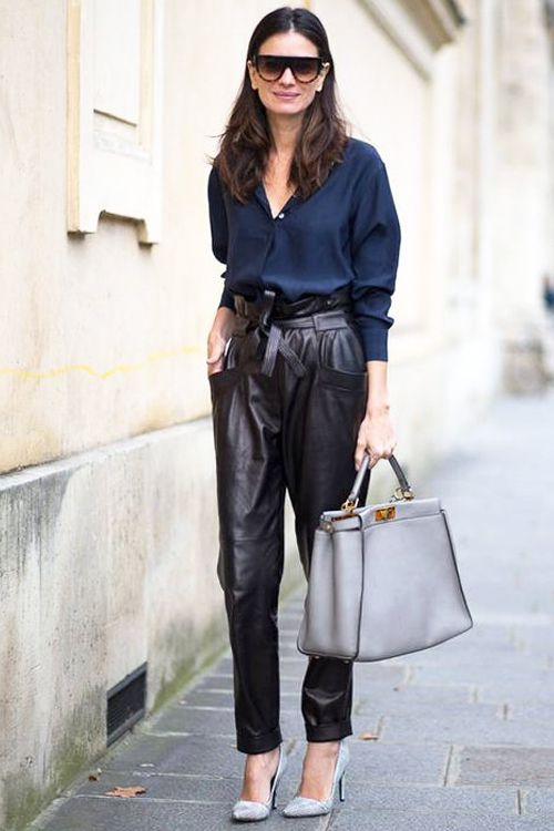 17+ Ways to Wear Black Pants Right Now