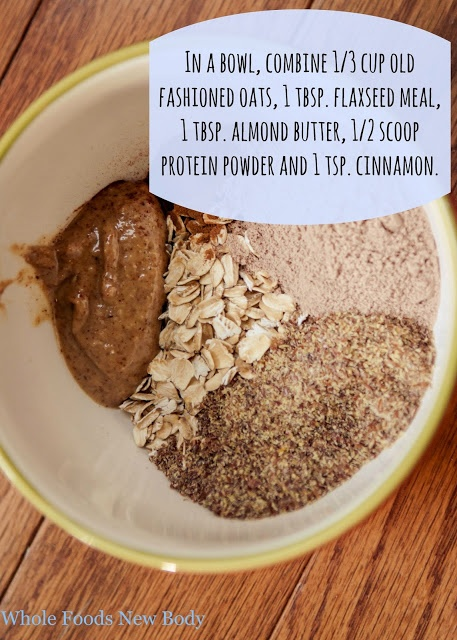 Raw oats cereal #cleaneating #wholefoods