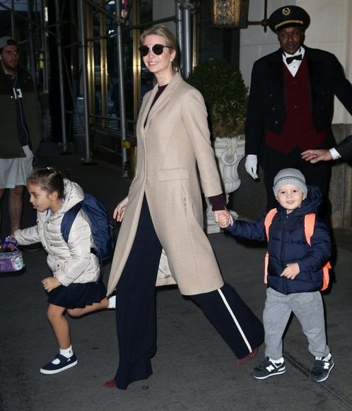 Ivanka Trump Photos Photos - Ivanka Trump steps out with her children Joseph and Arabella in New York City, New York on December 1, 2016. - Ivanka Trump Steps Out With Her Children in NYC