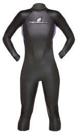 """This will probably be my first one, however, when I get one. It's """"cheap""""--ha. Women's NeoSport NRG Full Triathlon Wetsuit"""