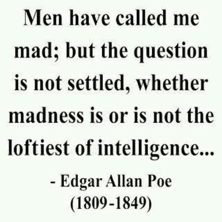 E A Poe Madman Or Literary Genius Essay