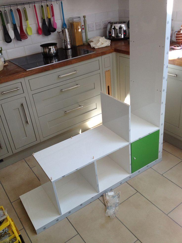 how to build an understairs cupboard door