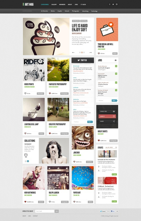 25 Professional and Modern Web Designs | From up North