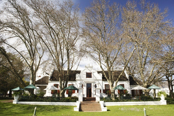 Nederburg Manor House, Paarl winery, South Africa