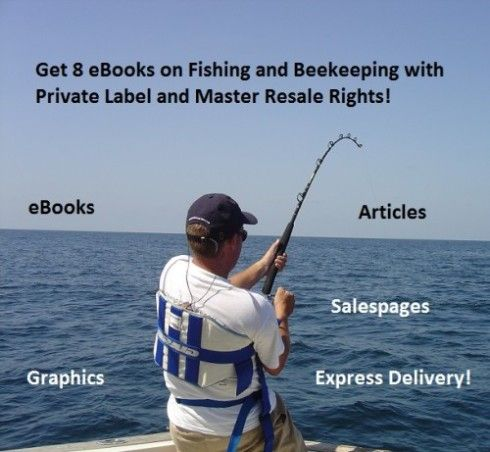 Get 8 #eBooks on #Fishing and #Beekeeping with #PrivateLabel and #MasterResaleRights for only $4. Check out the offer here: http://digesale.com/jobs/animals-pets/get-8-ebooks-on-fishing-and-beekeeping-with-private-label-and-master-resale-rights/