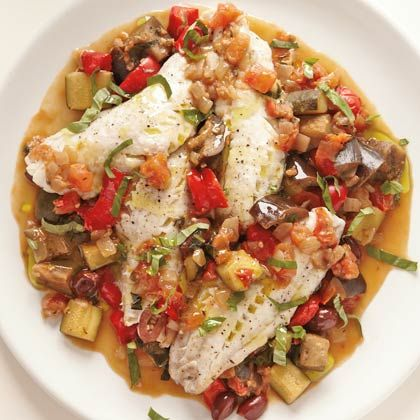 This dish packs enough protein (34 grams) to keep you full, plus the vegetables create a built-in side dish. Get creative with your vegetables by adding or swapping in vitamin D-rich mushrooms or yellow squash, loaded with vitamin C. | Health.com