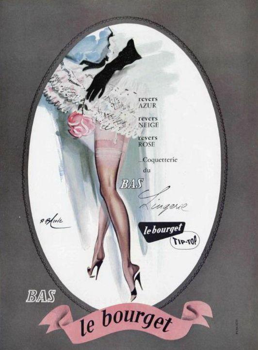 Nylon ad 1956French Nylons, Ads 1956, Advertis Art, Nylons Advertis, Vintage Advertis, 1956 Nylons, Vintage Ads, Nylons Ads, 1956 French