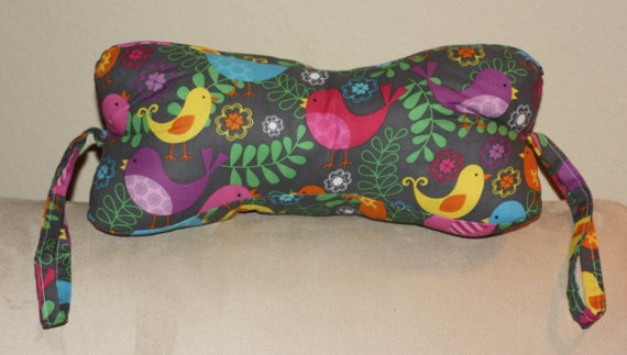 Neck Pillow Great for travel or home by SimpleSouthernCharm
