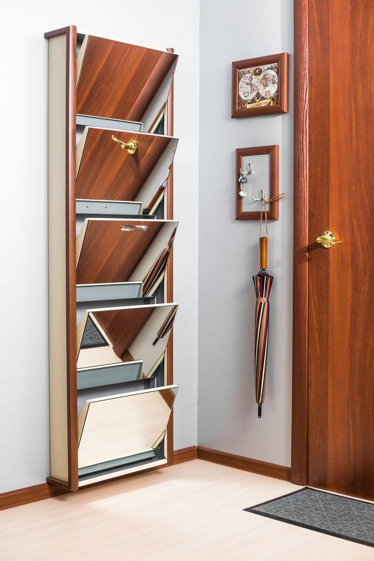 Шкаф для обуви для маленькой прихожей в интернет-магазине ShopIron.Ru