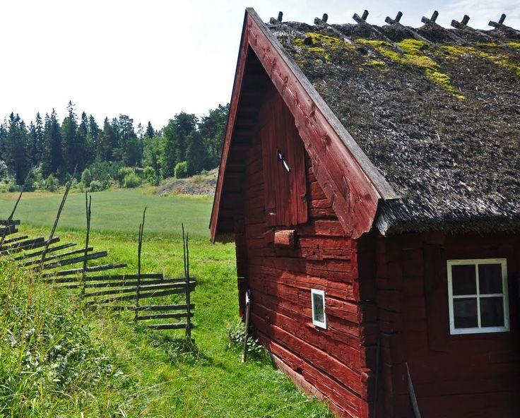 Old cottage (gammal stuga)