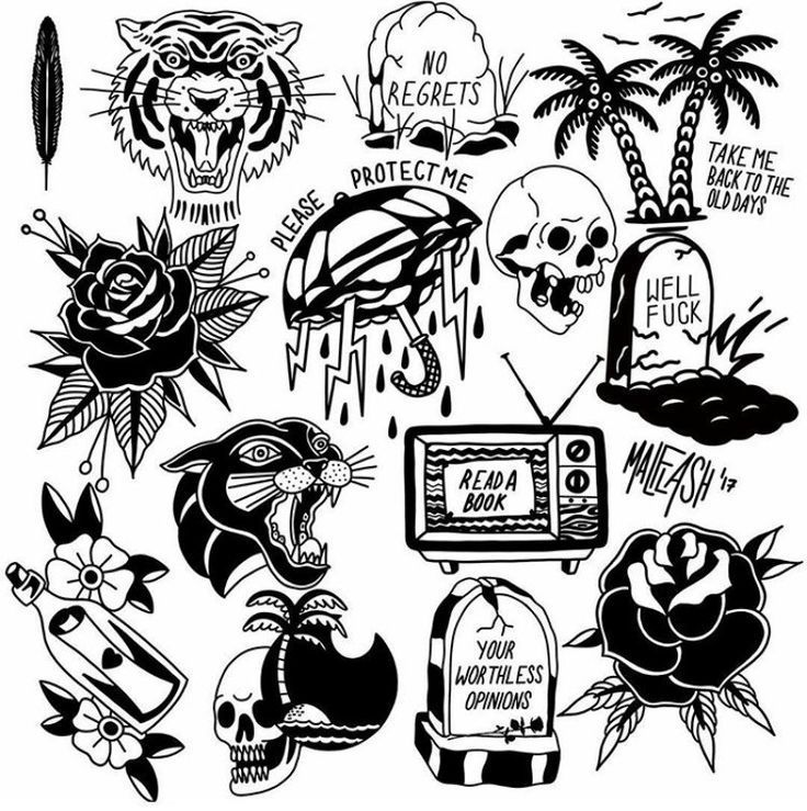 Artwork Inspiration Artwork Inspiration Old School Tattoo
