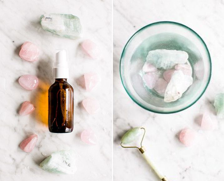 Aquamarine and rose quartz are the latest beauty ingredients we're obsesseing over. Find out why…