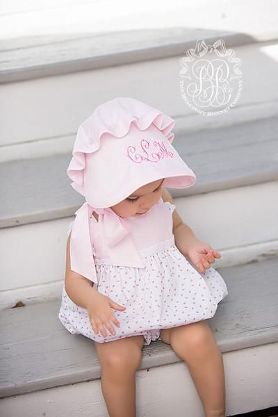 Bitsy Bubble - Port Royal Rosebud with Plantation Pink | The Beaufort Bonnet Company