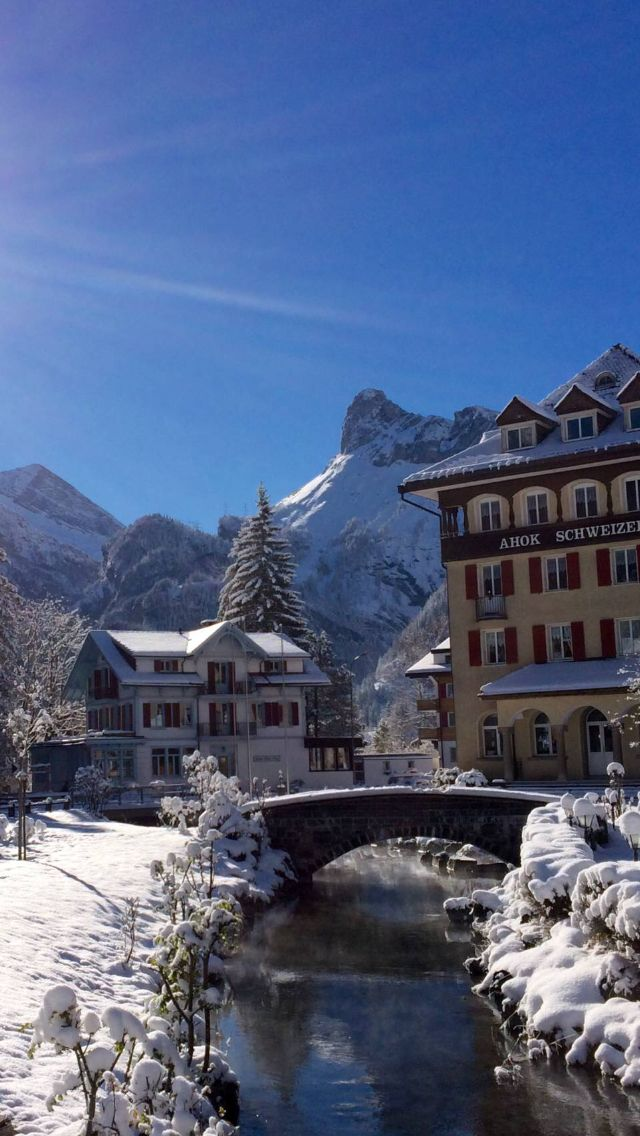 Kandersteg Switzerland.