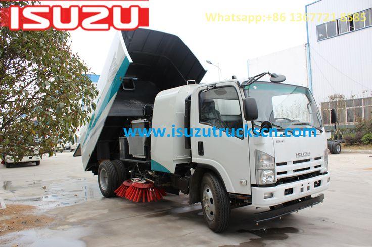 Myanmar 8cbm ISUZU NPR Road Sweeper trucks sweeper master, http://www.isuzutruckscn.com/road-sweeper_c38
