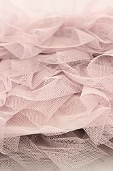 Dusty Pink Ruffle Trim