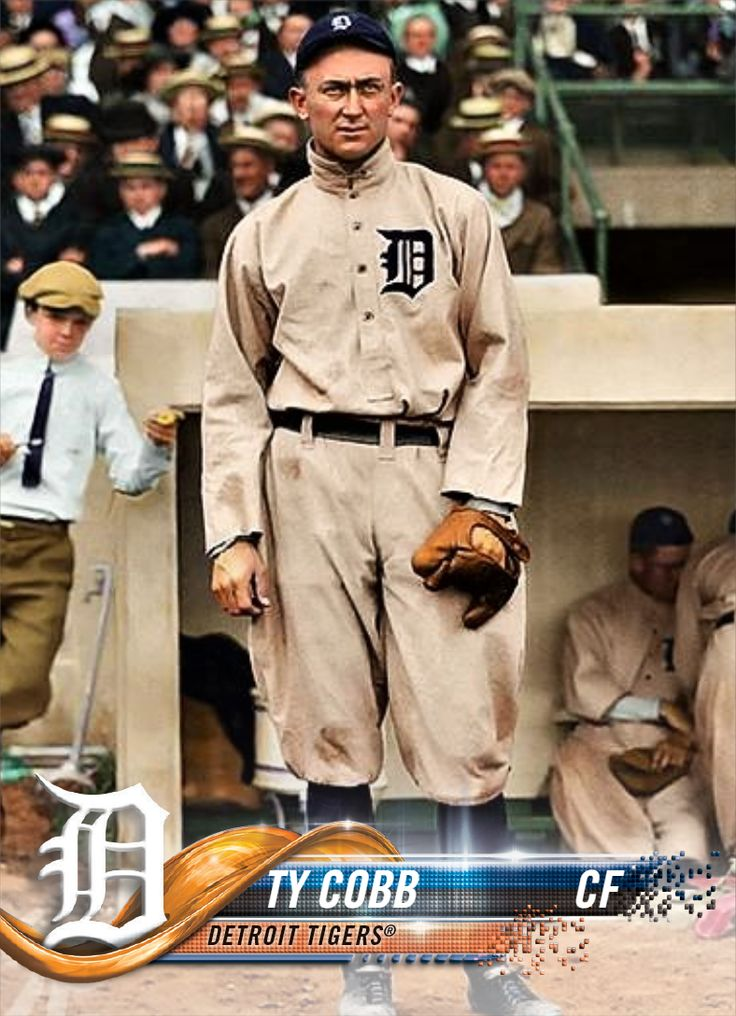 Pin by Cliff Dwellings on Baseball in 2020 Ty cobb