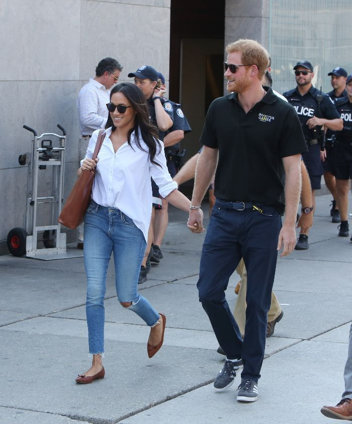 Meghan Markle and Prince Harry made their second public outing, hand in hand. See the adorable photos here.