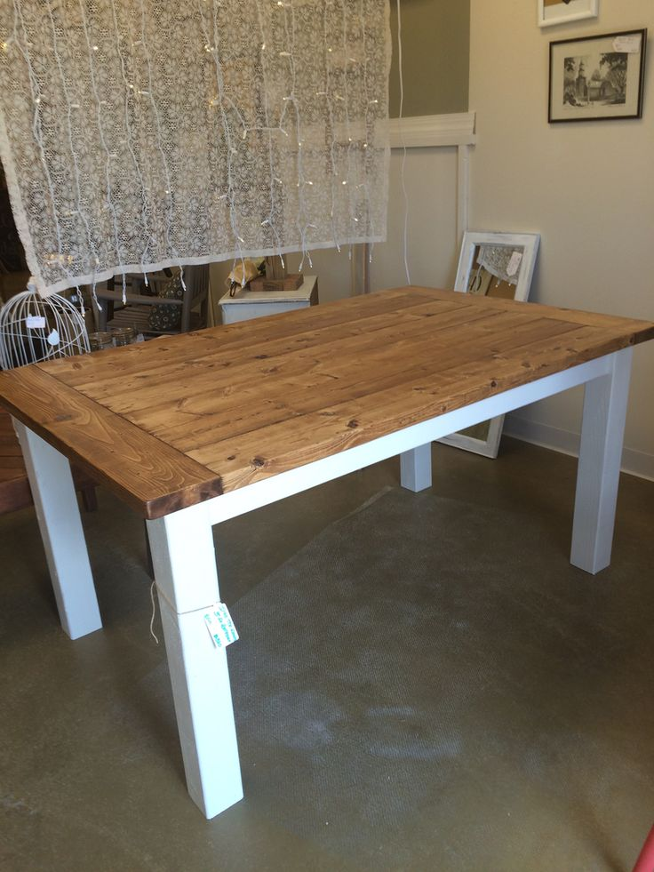 25 best ideas about farmhouse table for sale on pinterest for Rustic farm tables for sale