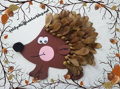 Fall Leaf Hedgehog (21/5)