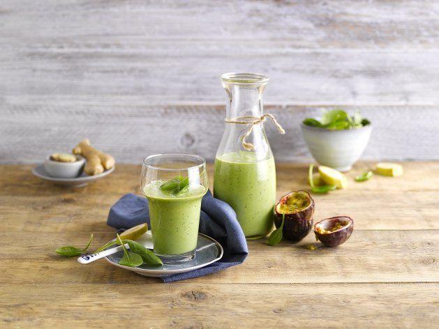 Un délicieux smoothie :Laissez-vous séduire par le Green Passion Smoothie