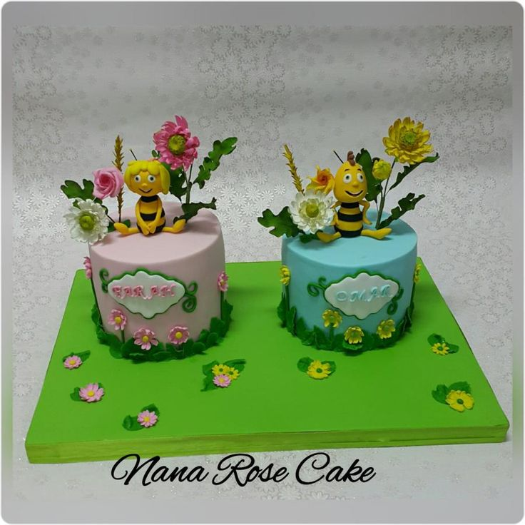 Maya The Bee With Her Friend Willy By Nana Rose Cake