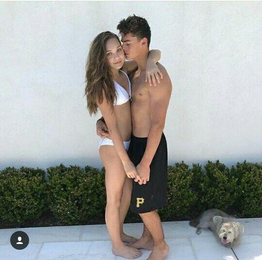 Maddie and her boyfriend