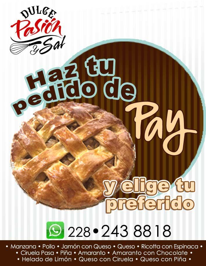 #dulcepasionysal #pedidos #pay #pie #tarta