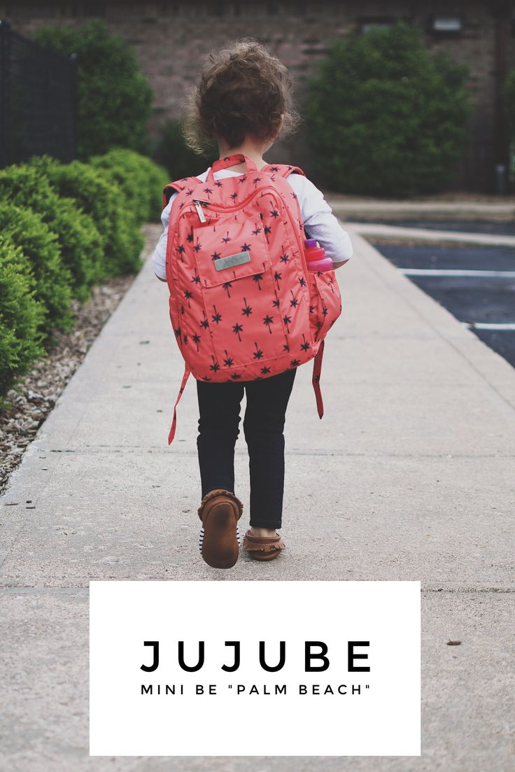 JuJuBe Mini Be in Pal Beach! Toddler backpack, school