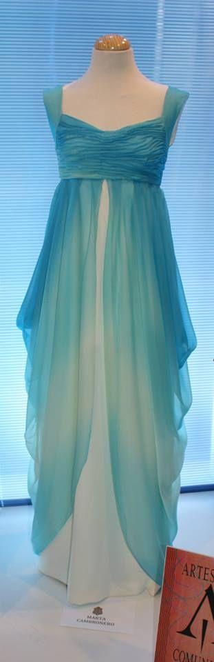 Blue Dress. Marta Cambronero SS 13