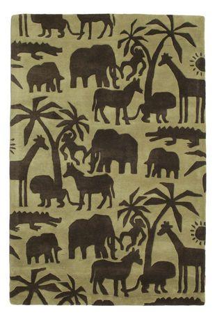 Africa Handtufted matta 120x180