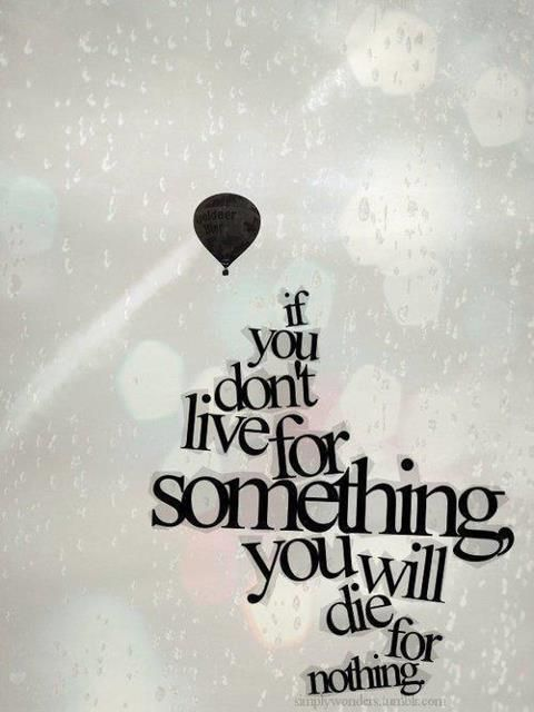 live for somethingThoughts, Life Quotes, Inspiration, Lifequotes, Wisdom, Truths, Living, Hot Air Balloons, True Stories