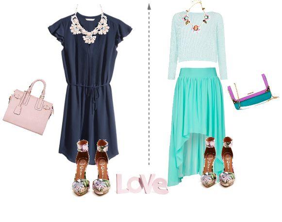 Обувь с цветочным принтом. С чем носить? floral print fashion look