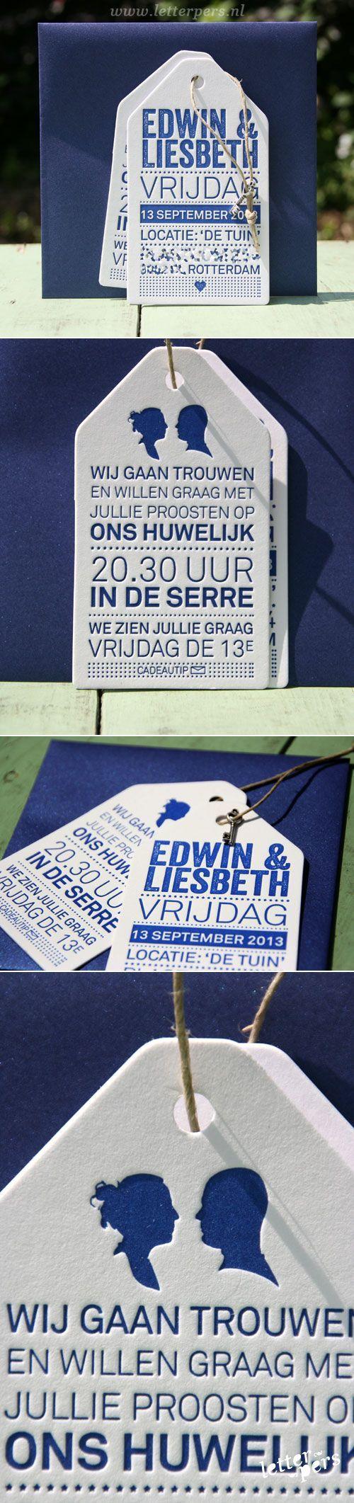 #Marriage #Invitation #Blue #Etiquette